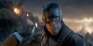 Капитан Америка с молотом Тора/ Фото: кадр из «Мстители: Финал»