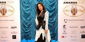 Елена Север на церемонии «Topical Style Awards2020».