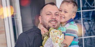 Ярослав Сумишевский с сыном