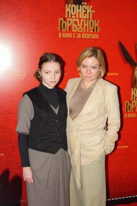 Министр культуры Ольга Любимова с дочкой Варварой