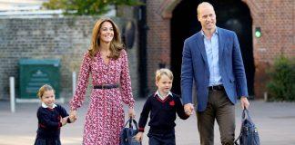 Принц Уильям и Кейт Миддлтон с детьми: принцем Джорджем и принцессой Шарлоттой